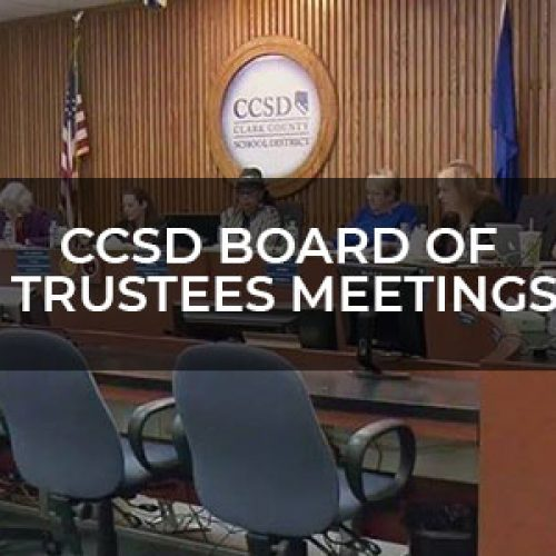 CCSD Board Of Trustees Meeting